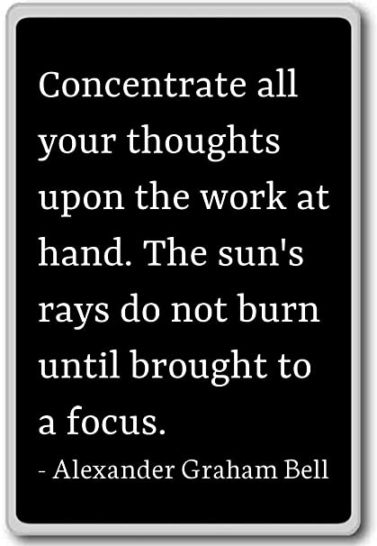Amazon.com: Concentrate all your thoughts upon th ...