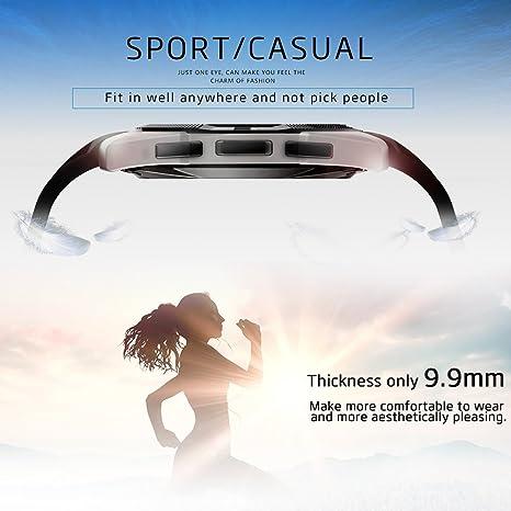 kivors Bluetooth reloj inteligente Fitness Tracker reloj con ...