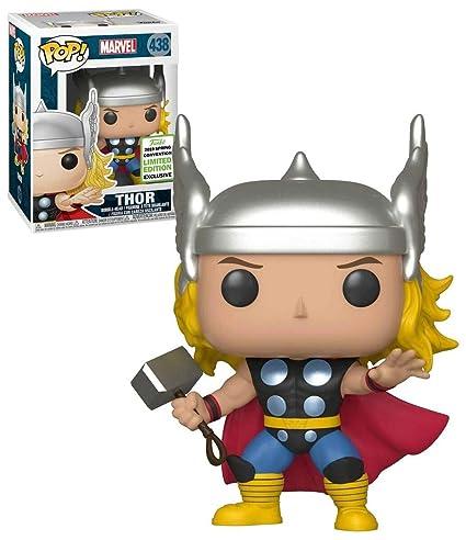Amazon.com: Funko Pop! Marvel Thor #438 2019 Spring ...