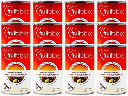 Digestive Supplement - Fruitables Pumpkin Digestive Supplement 15oz (Pack of 12)