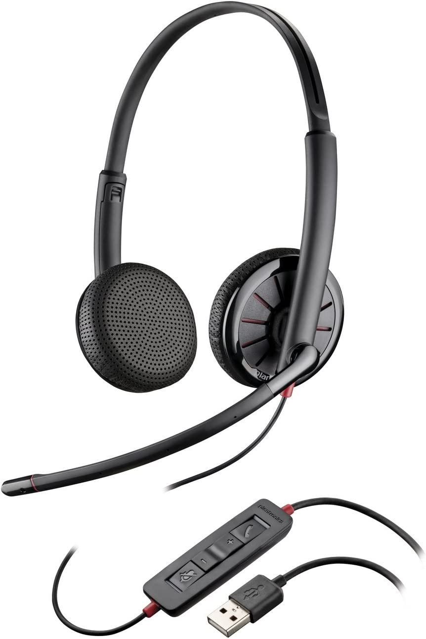 Plantronics 200263 01 Blackwire C325 M Stereo Over Ear Computer Zubehör