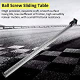 Sliding Table CBX1605-100 Single Track Linear Stage Actuator 1000mm High Precision Manual Sliding Table Ball Screw Linear Stage Slide Stroke