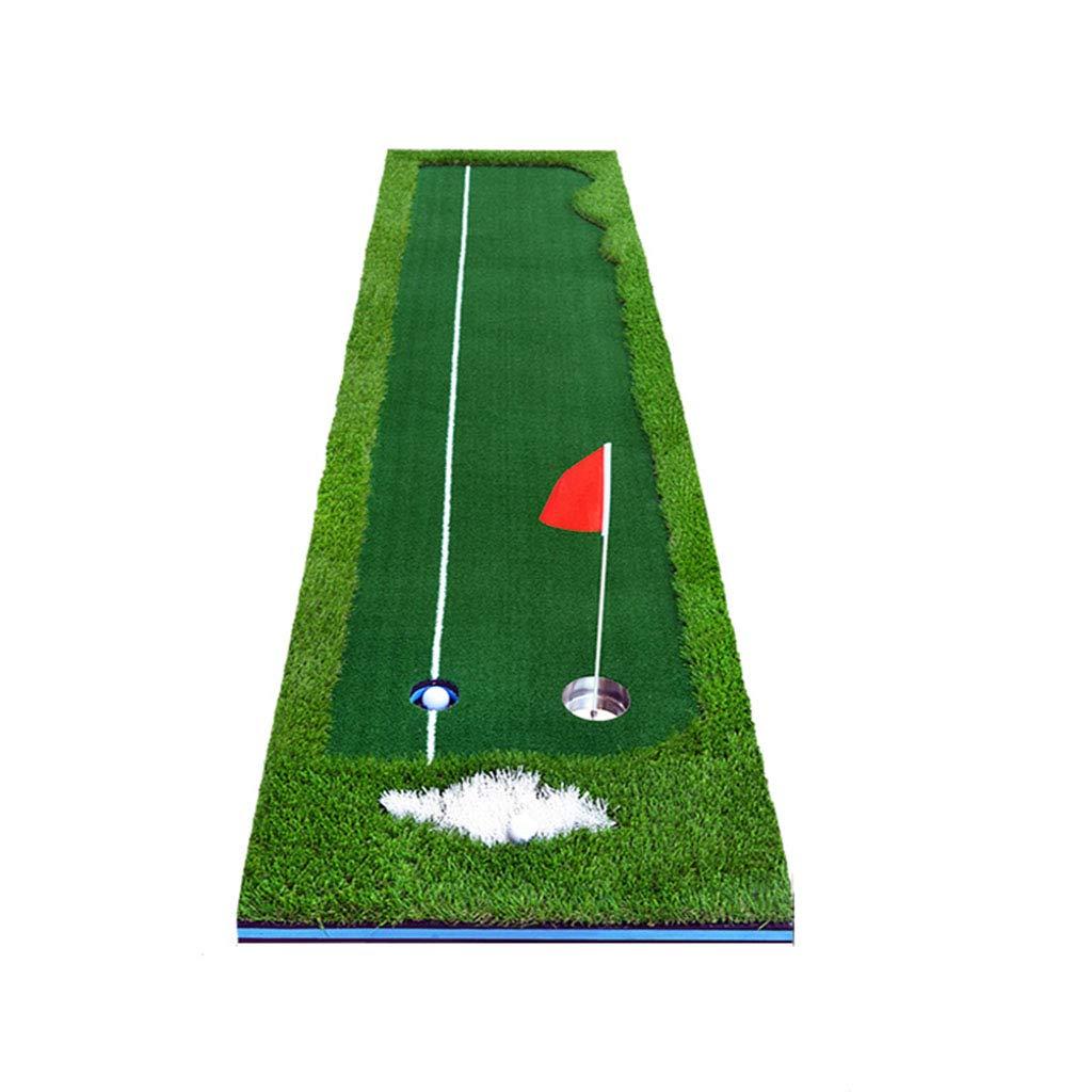 ゴルフフード 屋内ゴルフパッティング練習事務所ホームベルベットグリーンパッティング練習毛布   B07MHVMFXG