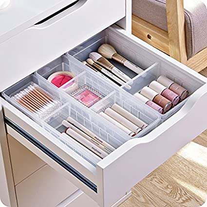 Amazon Com Chris W Desk Drawer Organizer Tray With Adjustable
