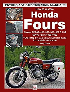 honda 350 550cc fours 72 78 clymer manuals motorcycle repair rh amazon com 1976 Honda CB 550 Specs 1976 Honda CB 550 Specs