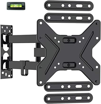 Loctek 26 55 Inch Tv Wall Mount Bracket Upto 72 Lbs Weight Capacity Max 400x400mm Vesa Size Full Motion Swivel Articulating Flat Screen Electronics