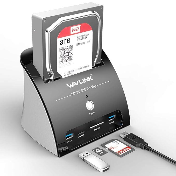 Amazon.com: WAVLINK USB 3.1 Tipo C (USB-C) a SATA Disco Duro ...