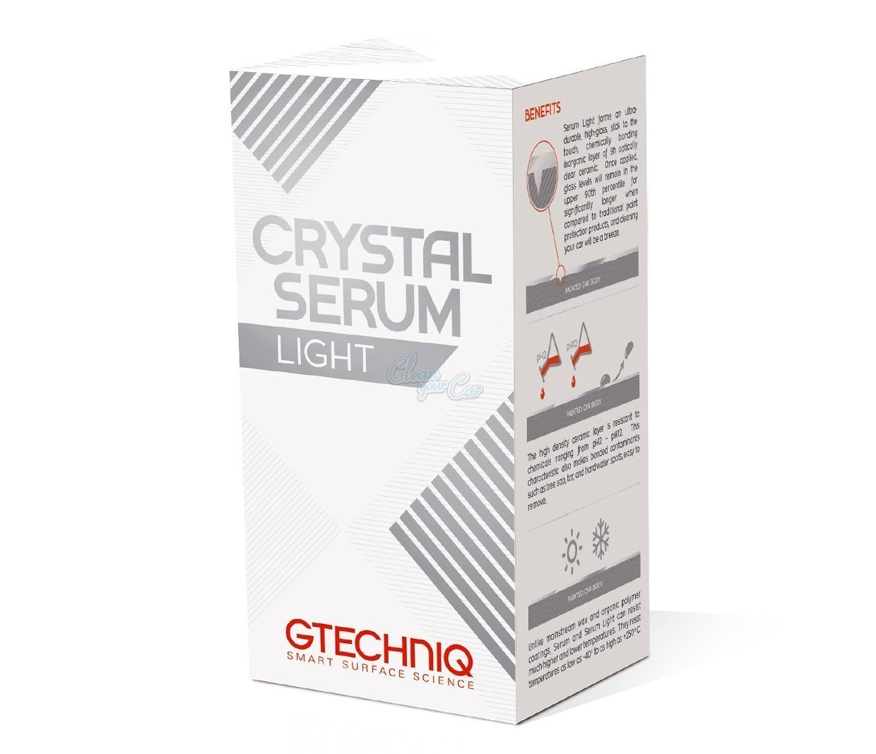 Amazon.com: Gtechniq Crystal Serum Light ceramic composite coating the best paint protection: Automotive