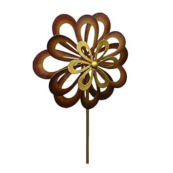 koehler home decor dancing daisy garden windmill garden spinner - Koehler Home Decor