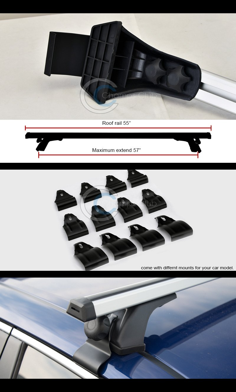 Warrior Products 835B Roof Rack Brackets for Cherokee 84-99 WRR:835B