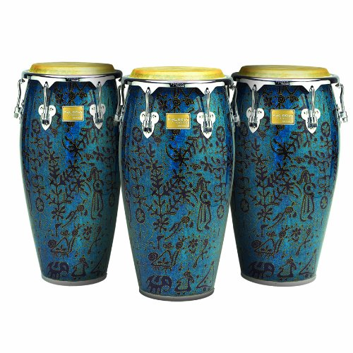 Tycoon Percussion 12 1/2 Inch Master Fantasy Bali Series Tumba With Single Stand by Tycoon Percussion