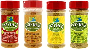Parma! Vegan Parmesan - Variety 4-Pack, Dairy-Free and Gluten-Free Vegan Cheese (3.5 Ounce, Pack of 4)