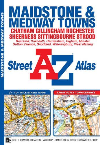 Read Online Maidstone & Medway Towns Street Atlas ebook