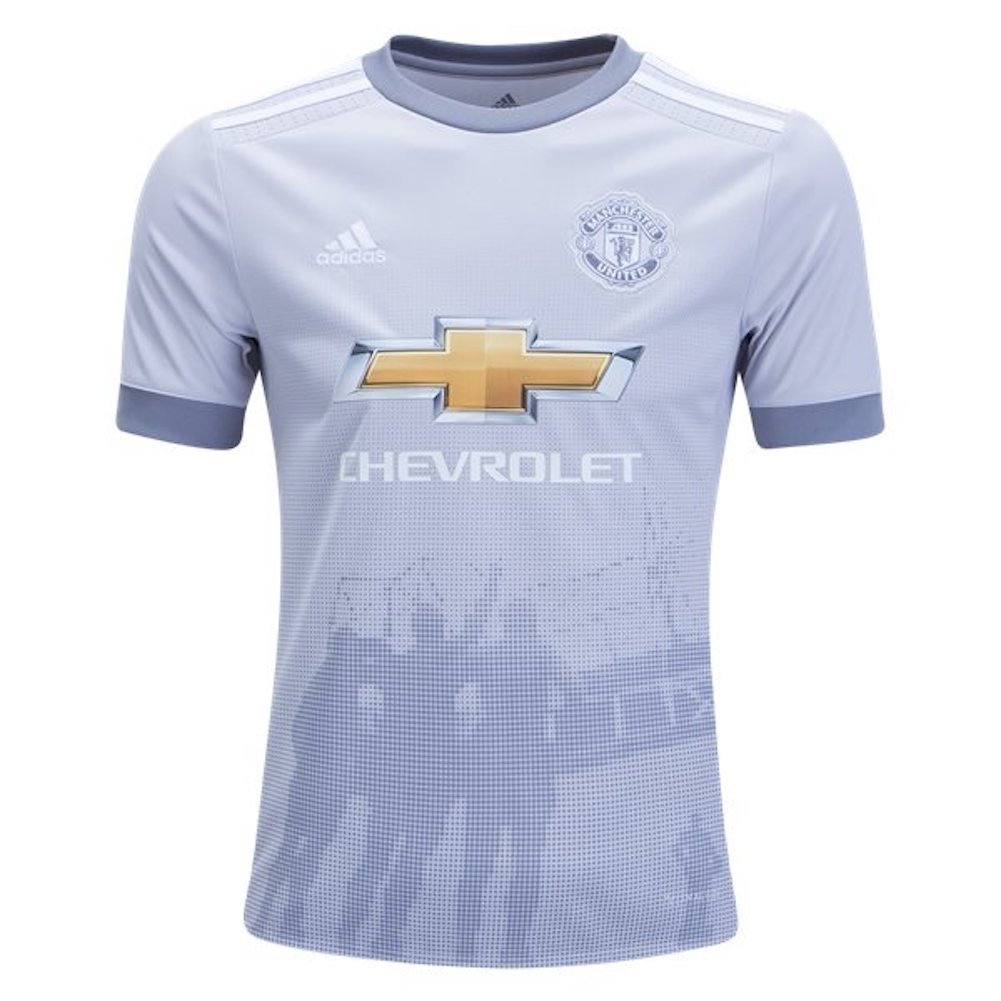 Adidas Manchester United 2017/18 Third Youth Jersey, Youth Medium AZ7562
