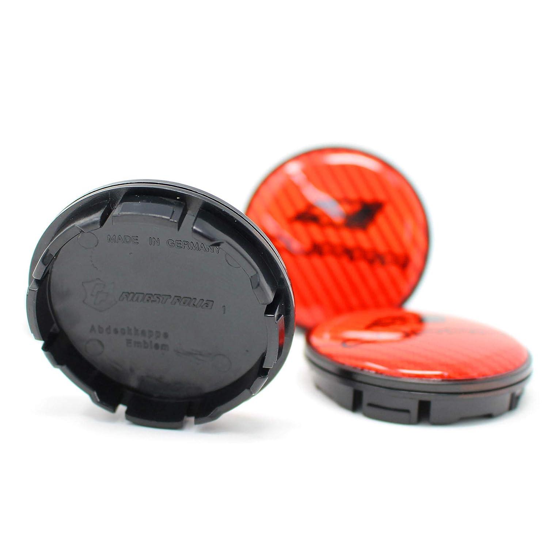 Finest Folia 4X Hub Cap Cupra 55 mm ABS Plastic OEM Quality Gel Emblem Aluminium Cover