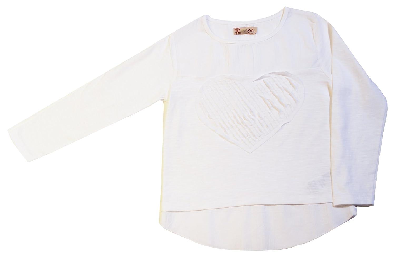 VITIVIC Closet Corazón Blanca, Camiseta para Bebés Camiseta infantil 4 Años 102845