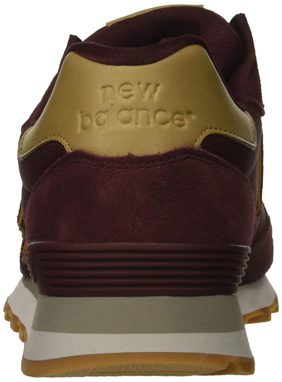 New Balance Herren 515v1 Turnschuh Burgundy/Hemp