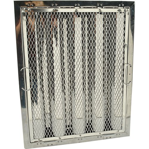 CAPTIVE AIRE Baffle Grease Filter by Captive-Aire 20'' H x 16'' W HRSA2016