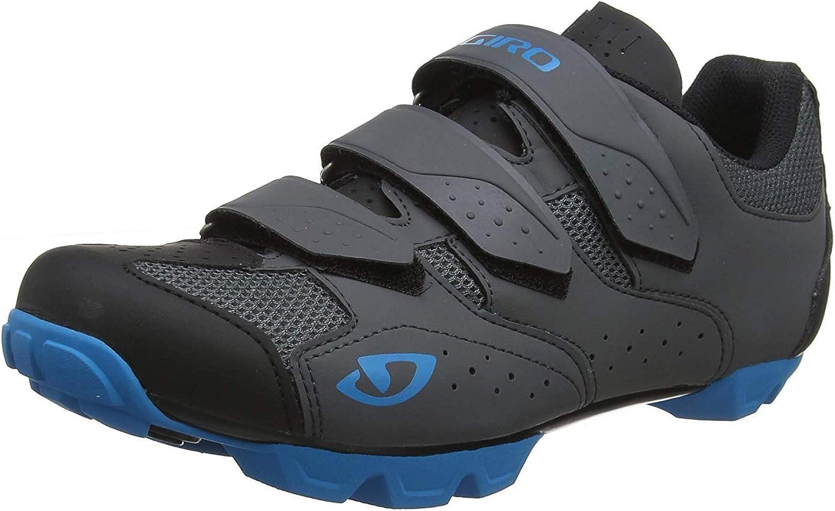 Amazon.com | Giro Carbide R II Mens Mountain Cycling Shoe − 39, Dark  Shadow/Blue (2020) | Cycling