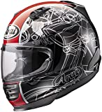 Arai Helmets Defiant Chopper Helmet, Distinct Name: Chopper, Gender: Mens/Unisex, Helmet Category: Street, Helmet Type: Full-face Helmets, Primary Color: Black, Size: XL 818884