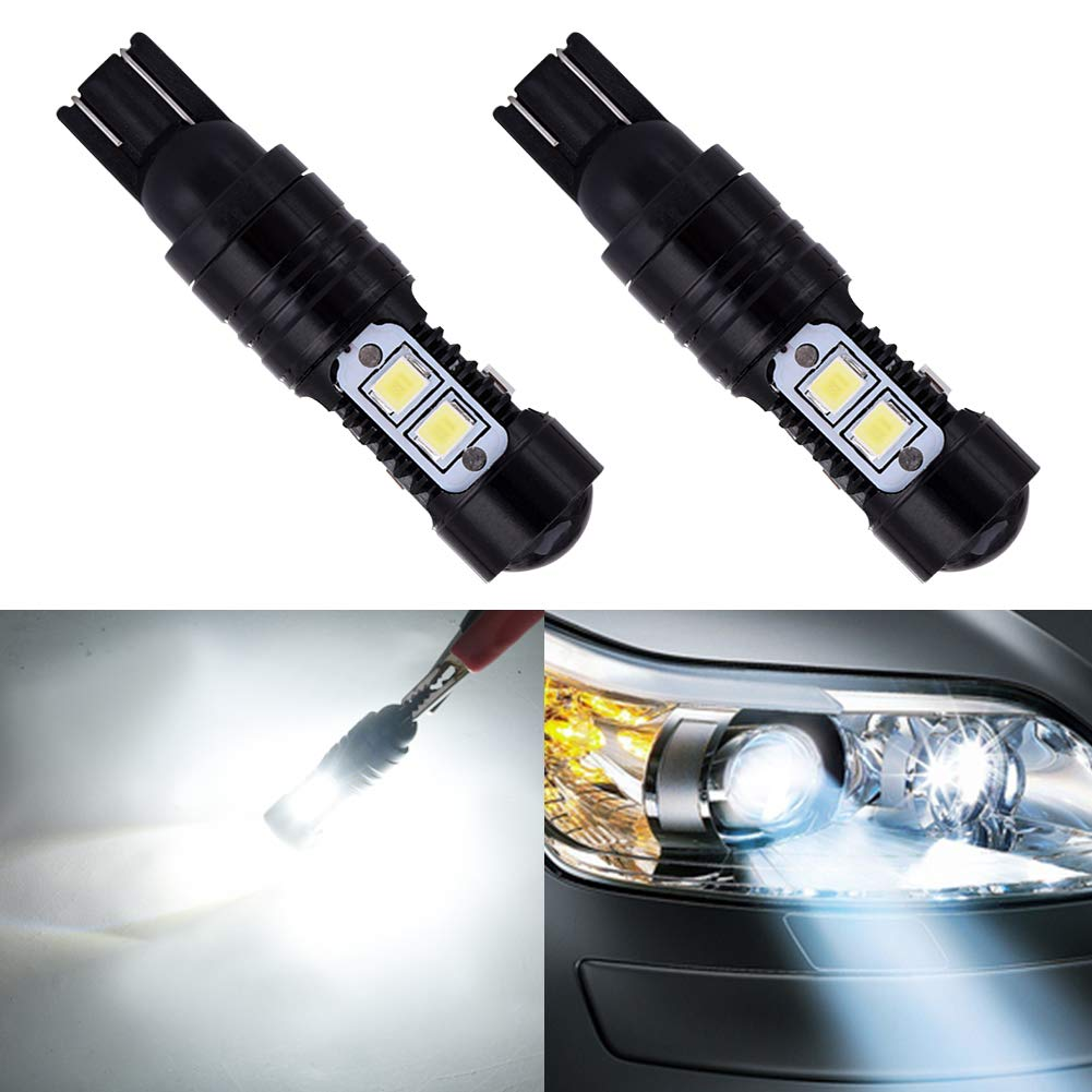 TOHUU 20 Pack Car T10, T12, T15, 912, 921, 906, 904, 902, W16W LED Bulbs Super Bright 1000LM Car Interior Dome Map Door Courtesy License Plate Lights