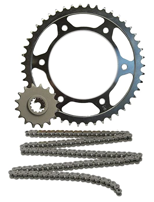 JT Sprockets (JTSK2014 520X1R Chain and 14 Front/45 Rear Tooth Sprocket Kit