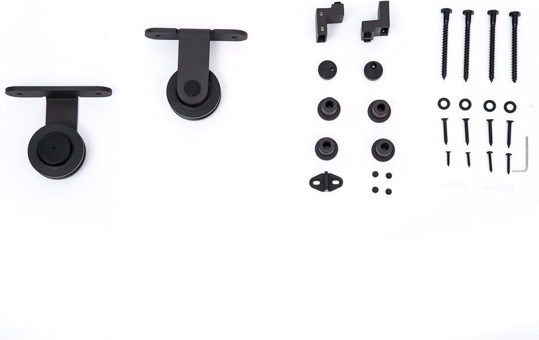 Homcom interior puerta corrediza de granero Hardware Set – Set de 9 Estilo opciones.: Amazon.es: Bricolaje y herramientas