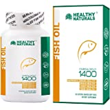 Omega 3 Fish Oil Burpless, DHA - High Potency, Natural Made, Triple Strength, Non-GMO, NSF-Certified Supplement from Healthy Naturals