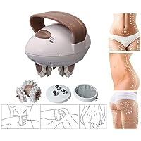 Elektrische Body Massager, USB Lading Waterdichte Verwisselbare Zachte Massage Vinger Voor Gezicht, Arm, Hand, Nek, Voet…