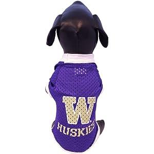 wholesale dealer 3b4e8 992e6 NCAA Washington Huskies Athletic Mesh Dog Jersey