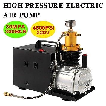SENDERPICK 30MPA 4500PSI - Bomba de aire eléctrica de alta presión (50 L/min, PCP, compresor eléctrico, 300 bar): Amazon.es: Bricolaje y herramientas