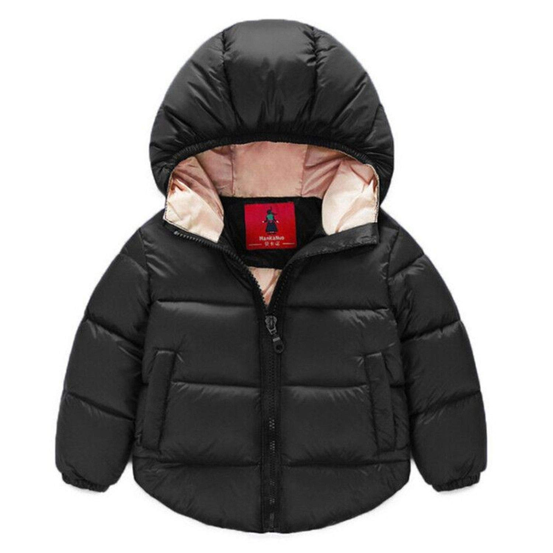 082e686cb Amazon.com  Kids Toddler Boys Jacket Coat Jackets Children Outerwear ...