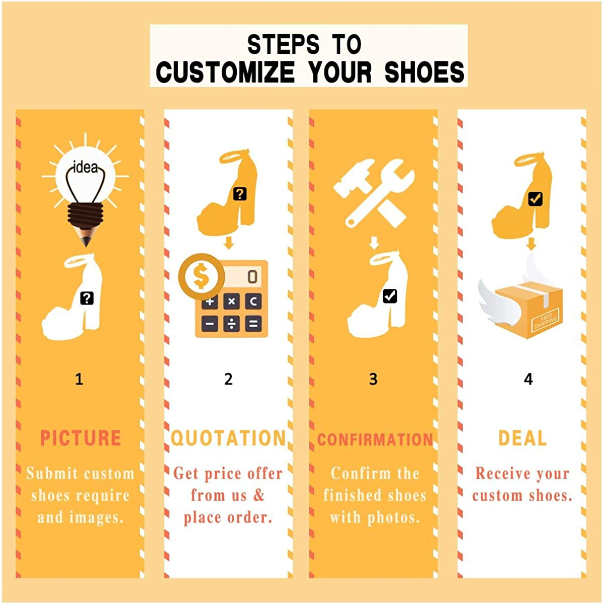 Your Dream Shoes FSJ Customization for