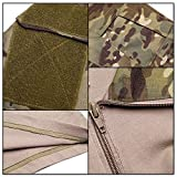 TOMITANY DXdesign Tactical 1/4 Zip Combat Long