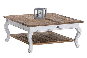 Clp Couchtisch Eneas Aus Recyceltem Ulmenholz Kompakter Holztisch