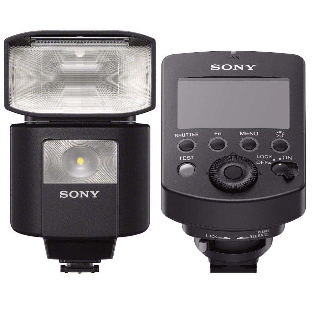Sony External Flash with Wireless Radio Control w/Wireless Radio Commander