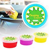 CHEERS DEVICES Cleaning Gel for Car 4-Pack Car Detailing Kit Car Cleaning Kit Supplies Putty for Car Accessories Interior Cle