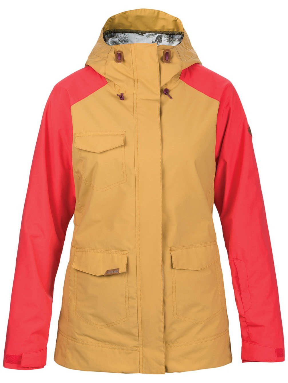 DaKine Women's Canyons II Jacket, LIL Buck, Poppy, S by Dakine