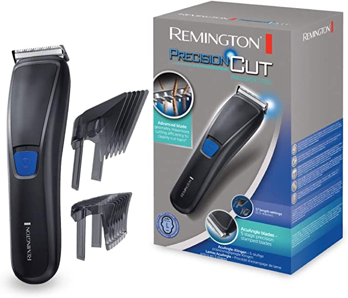 Remington Precision Cut Precision Steel HC5300 Corta Pelo con Cuchilla de Forma Exclusiva, Peines Ajustables SlideSelect: Amazon.es: Salud y cuidado personal