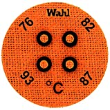 Wahl Instruments 443-076C Round Mini Four Position IC Batch/Vacuum Chamber Temp-Plate, 76, 82, 87 and 93 degrees C (Pack of 10)