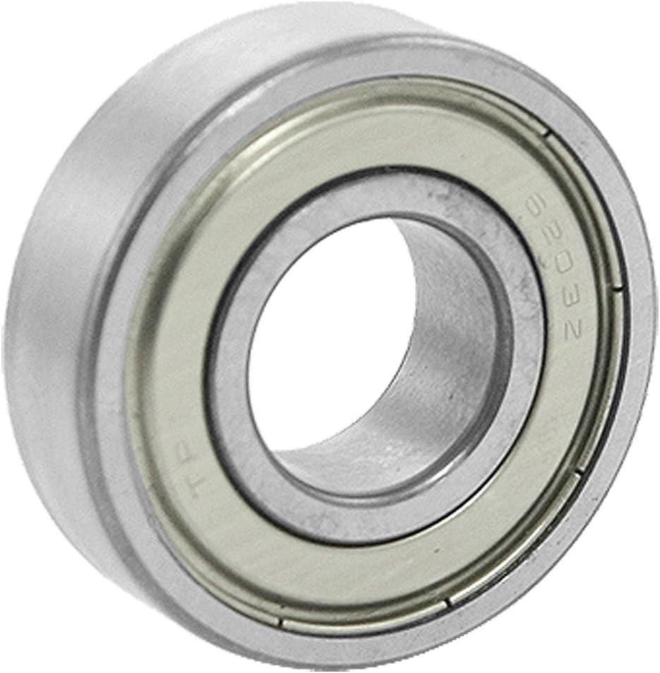 uxcell/® 6203Z Deep Groove Double Metal Shields Metric Ball Bearing 17 x 40 x 12mm