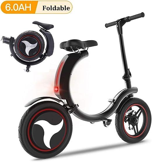 San Qing Mini Bicicleta eléctrica Plegable Adulto Coche eléctrico ...