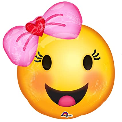 156145280b Amazon.com  Emoji with Bow 18