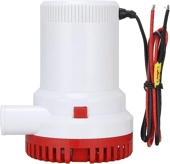 plomberie NiceDD Pompe de cale /électrique pour bateau 2000 gph 12 V