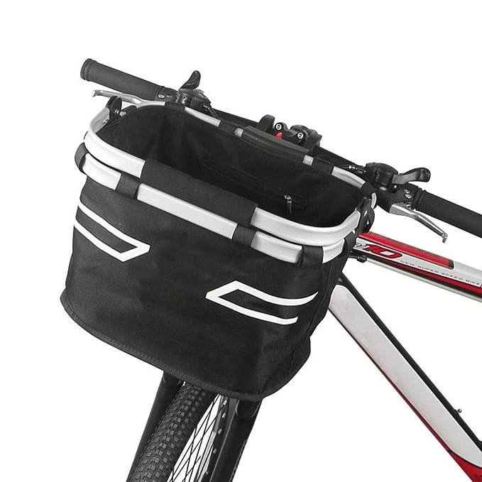 Cesta Plegable para Bicicleta - Portador De Perros Plegable para ...