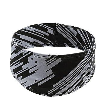 WDOIT Stirnb/änder Sportliche Kopf Band Schwei/ßband fur Rutschfeste Feuchtigkeit Wicking Sportlic Outdoor Sport