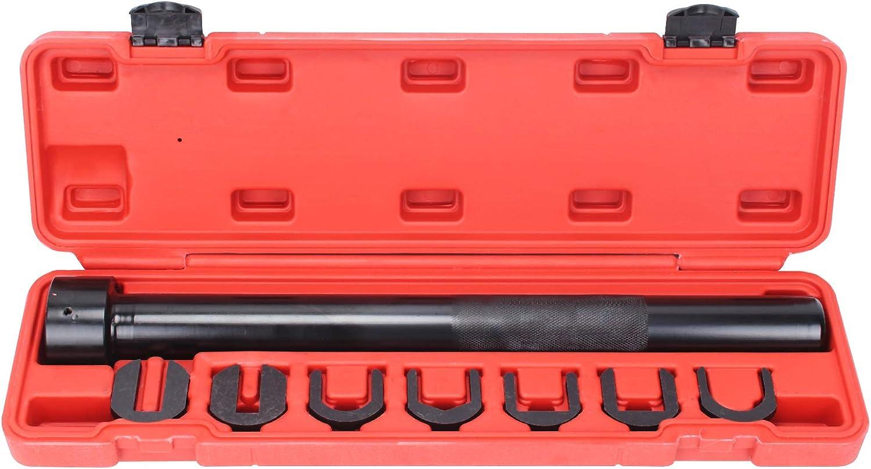 YORKING 7pcs Universals Inner Tie Rods End Installer Remover Tool Set Adjuster Cars