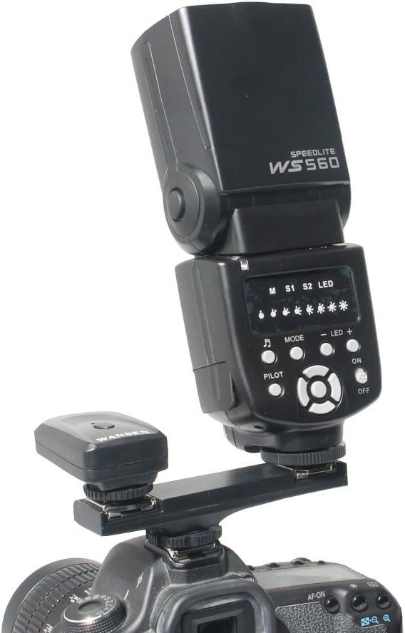 TTL Dual Blitzschuhadapter für Nikon D7000 D7200 D7100