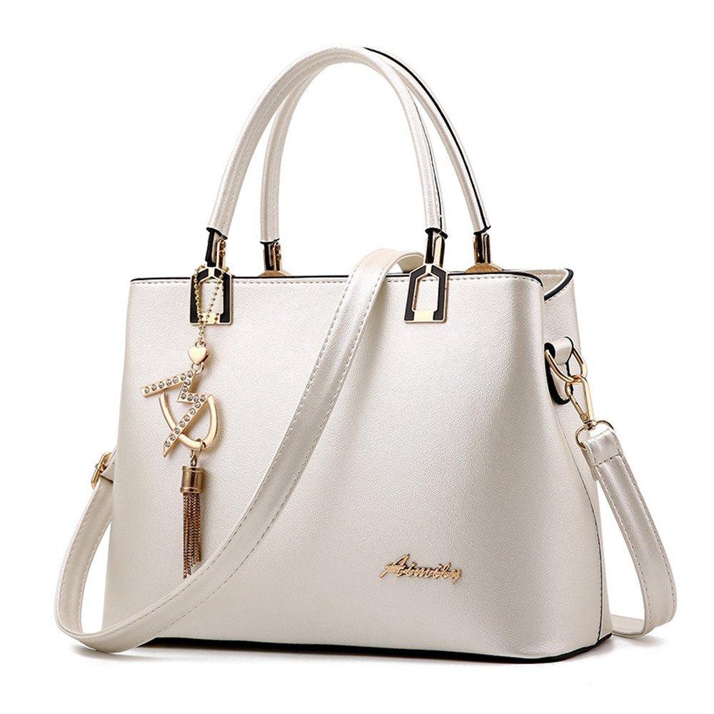 Vintage Handbag,AgrinTol Leather Crossbody Bag Shoulder Bag Messenger Bag Hangbag