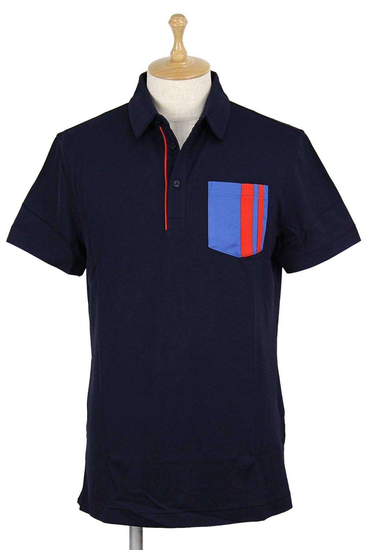 ポロシャツ メンズ Jリンドバーグ J.LINDEBERG 日本正規品 2019 春夏 ゴルフウェア 071-29341 M(46) ネイビー(098) B07PGNKJGW